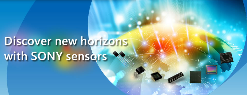 Discover new horizons with SONY sensors